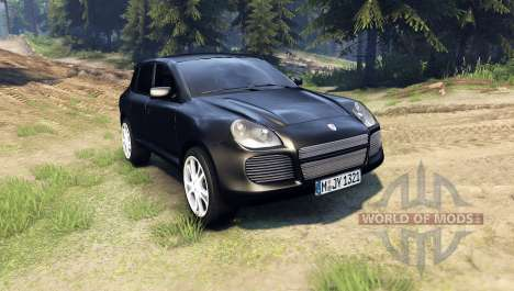 Porsche Cayenne for Spin Tires
