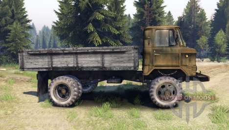 GAZ-SAZ-3511-66 for Spin Tires