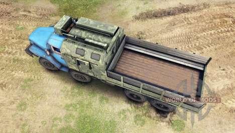 Ural-6614 v4.0 for Spin Tires