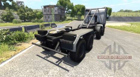 Scania 8x8 heavy utility truck for BeamNG Drive