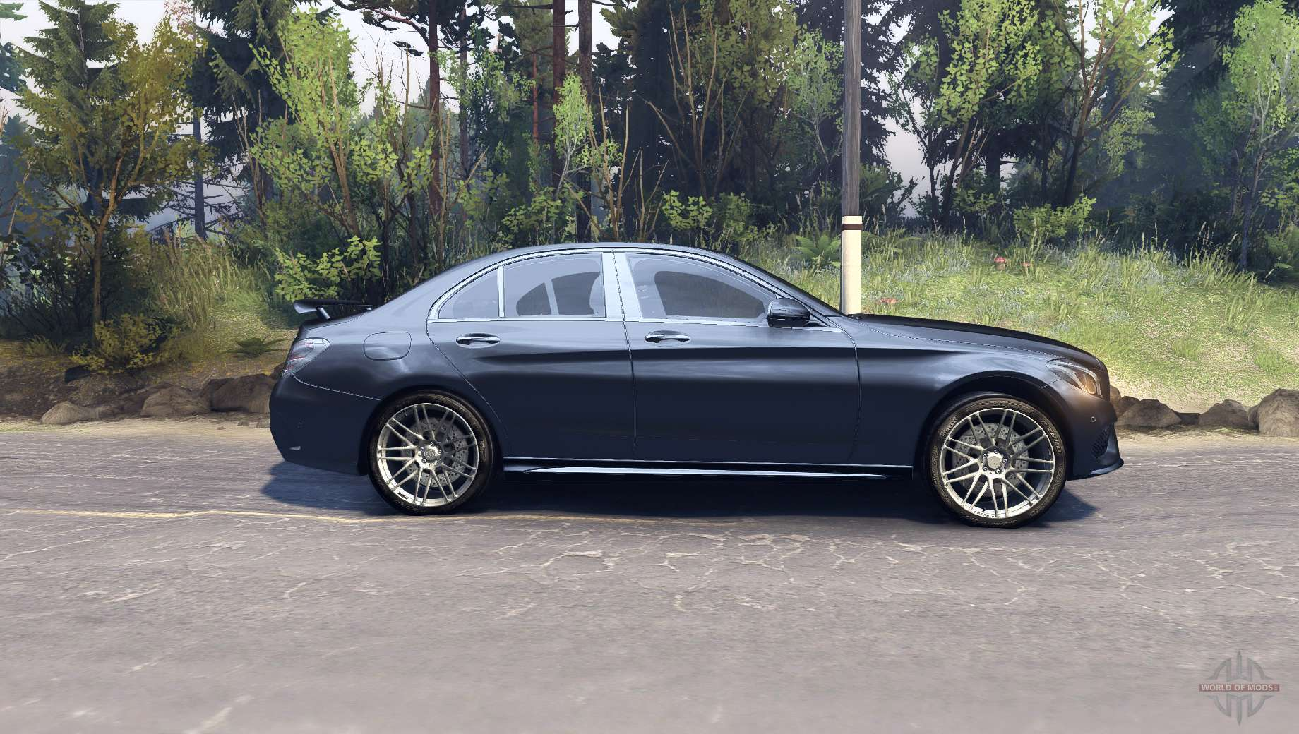 mercedes benz c250 brabus for spin tires. Black Bedroom Furniture Sets. Home Design Ideas
