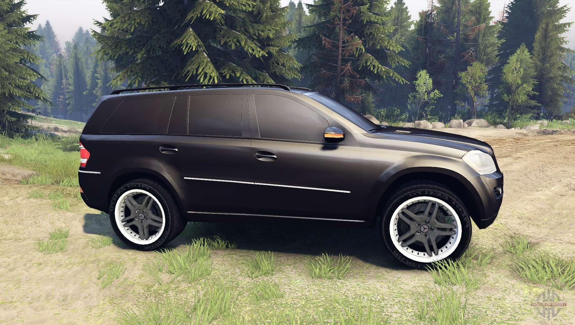 Mercedes benz gl 500 for spin tires for Mercedes benz gl450 tires
