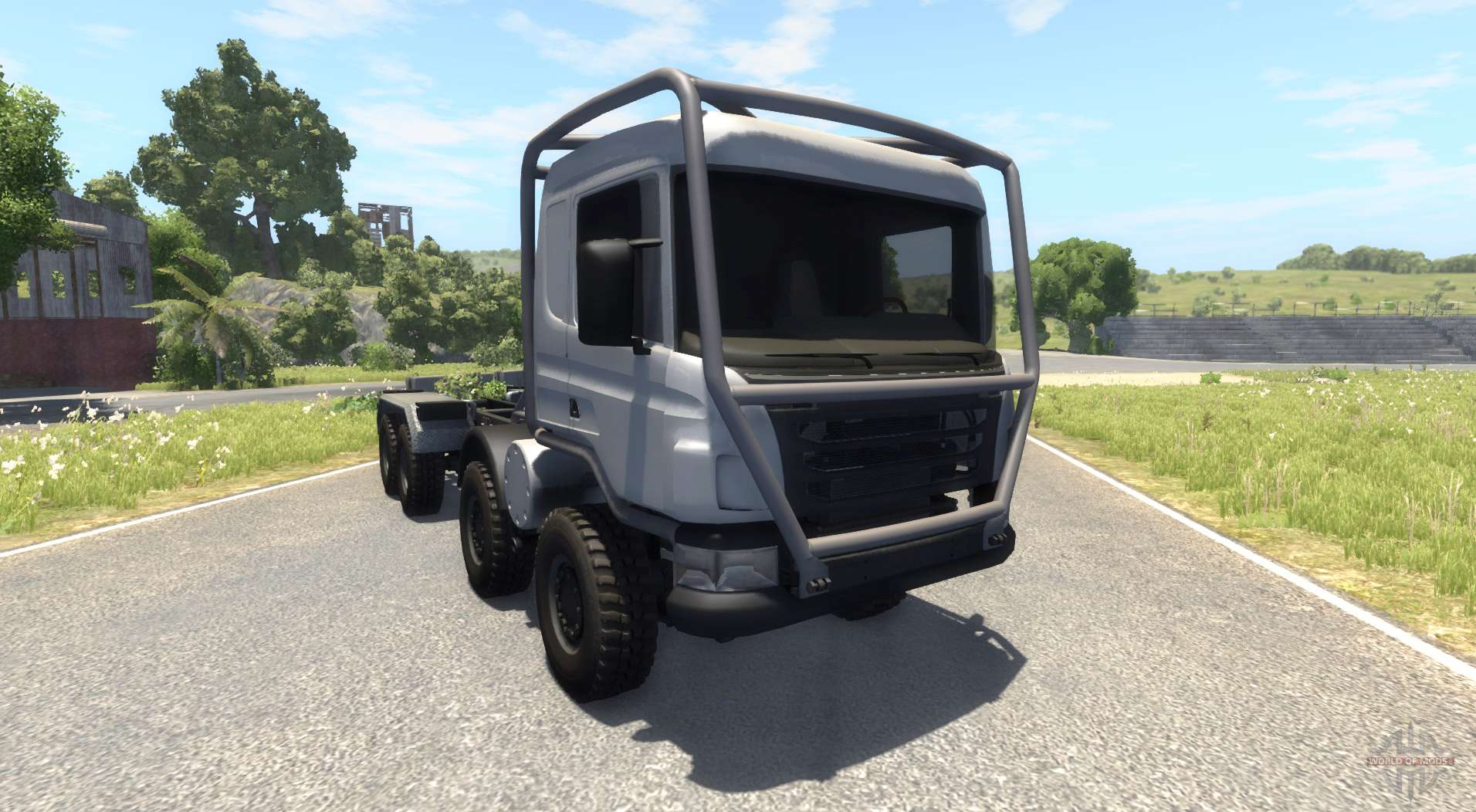 Best Awd Sports Cars >> Scania 8x8 heavy utility truck for BeamNG Drive