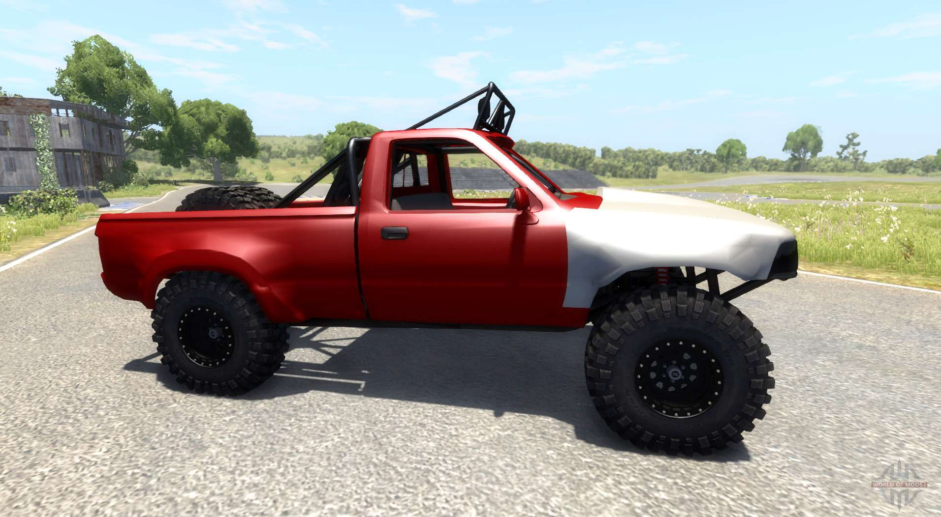 Toyota Prerunner Off Road For Beamng Drive
