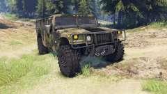 Hummer H1 camo