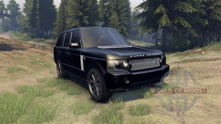 Range Rover Sport Black Final for Spin Tires