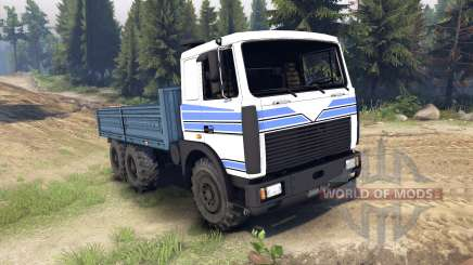 MAZ-642208 for Spin Tires