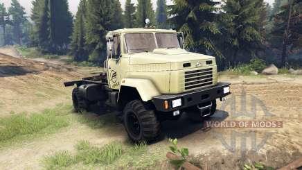 KrAZ-5133 for Spin Tires