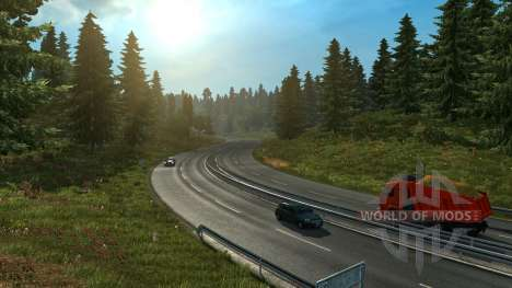 Eternal day for Euro Truck Simulator 2