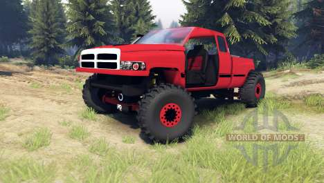 Dodge Ram 1500 [chopped] for Spin Tires