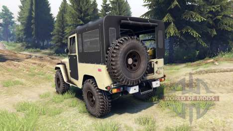 Toyota Land Cruiser (J40) for Spin Tires