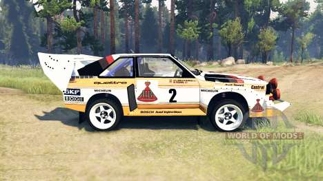 Audi Sport quattro S1 for Spin Tires