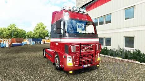 Volvo FH12 XL for Euro Truck Simulator 2