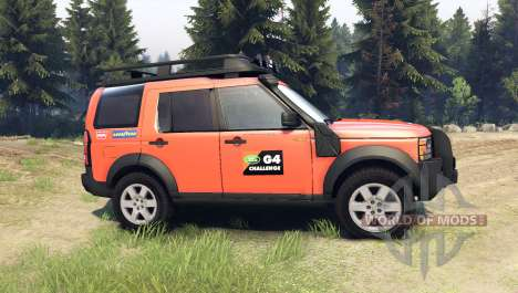 Land Rover Discovery for Spin Tires