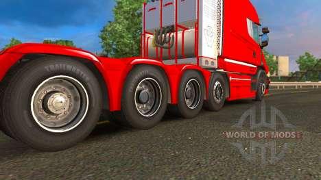 Scania T v1.7.1 Review for Euro Truck Simulator 2
