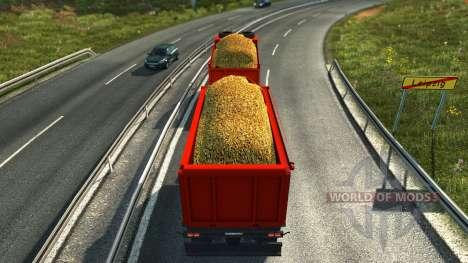 KAMAZ tandem for Euro Truck Simulator 2