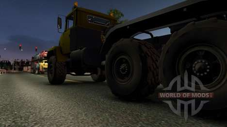 KrAZ 6446 for Euro Truck Simulator 2