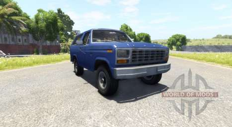 Ford Bronco 1980 for BeamNG Drive