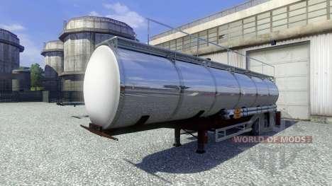 Trailers Techno Chemicals for Euro Truck Simulator 2