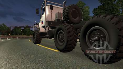 Ural 43020 for Euro Truck Simulator 2