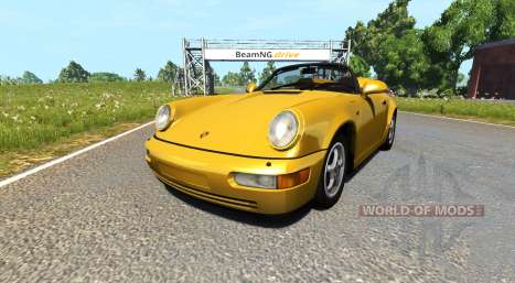 Porsche 911 Carrera 2 Speedster for BeamNG Drive