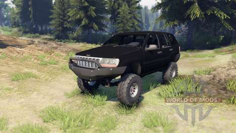 Jeep Grand Cherokee ZJ for Spin Tires