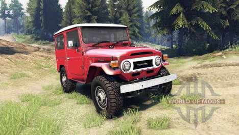 Toyota Land Cruiser (J40) for Spin Tires