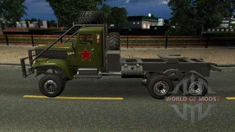KrAZ 255 for Euro Truck Simulator 2