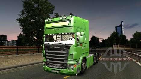 Scania R620 Bring 2.0 for Euro Truck Simulator 2