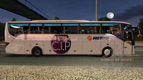 Setra 516 HDH Bus Mod First and Only for Euro Truck Simulator 2