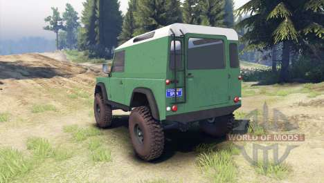 Land Rover Defender 90 [hard top] for Spin Tires