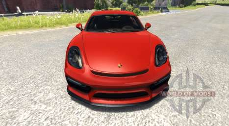 Porsche Cayman GT4 for BeamNG Drive
