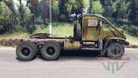 KrAZ-258 for Spin Tires