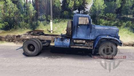 KrAZ-258 4x2 for Spin Tires