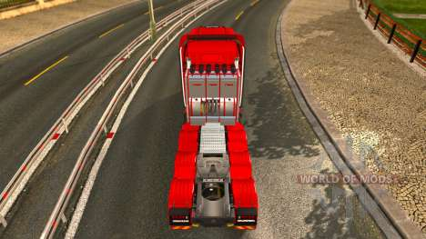 Scania T v1.7.1 Review for Euro Truck Simulator 2