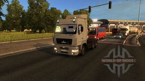 MAZ A for Euro Truck Simulator 2