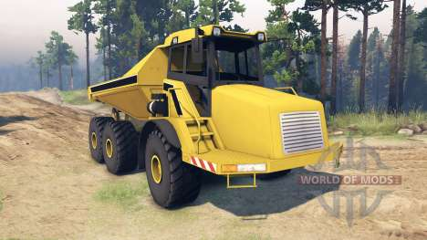 Liebherr Dump Truck v0.01 for Spin Tires