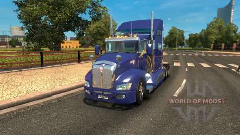 Kenworth T660 for Euro Truck Simulator 2
