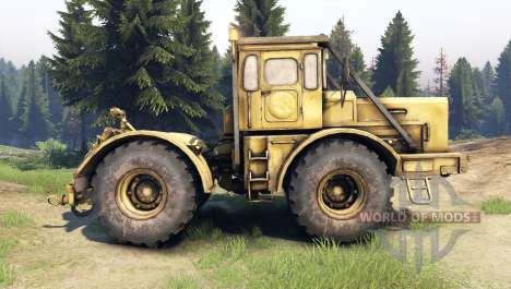 K-700 Kirovets for Spin Tires