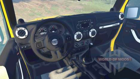 Jeep Wrangler Rubicon for Spin Tires