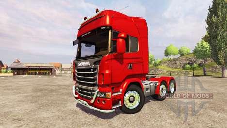 Scania R730 Topline v2.2 for Farming Simulator 2013