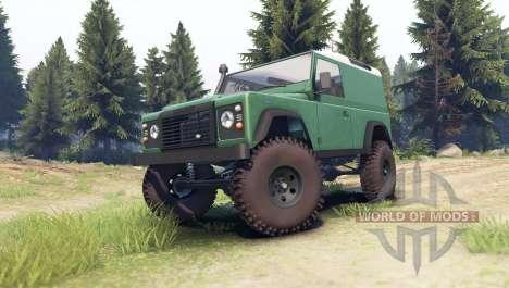 Land Rover Defender 90 [hard top] for Spin Tires