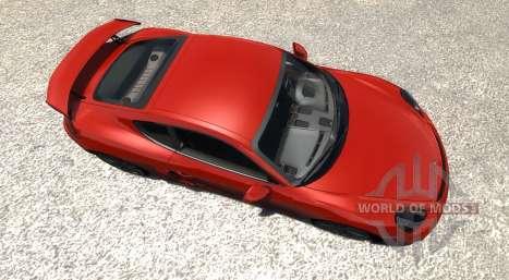 Porsche Cayman GT4 for BeamNG Drive