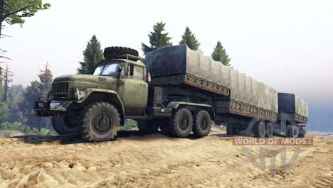 ZIL-137 for Spin Tires