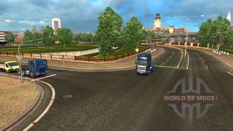 The weather change for Euro Truck Simulator 2