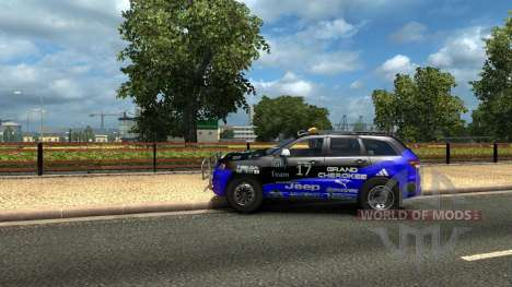Jeep Grand Cherokee SRT8 for Euro Truck Simulator 2