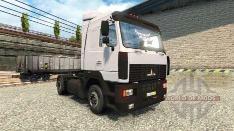 MAZ 54409 for Euro Truck Simulator 2