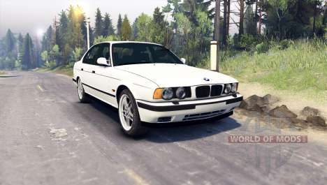 BMW M5 (E34) 1995 v1.1 for Spin Tires