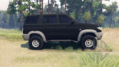 UAZ-3163 Patriot for Spin Tires
