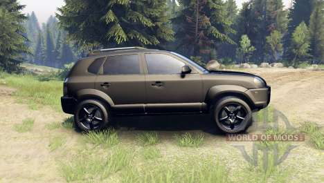 Hyundai Tucson for Spin Tires